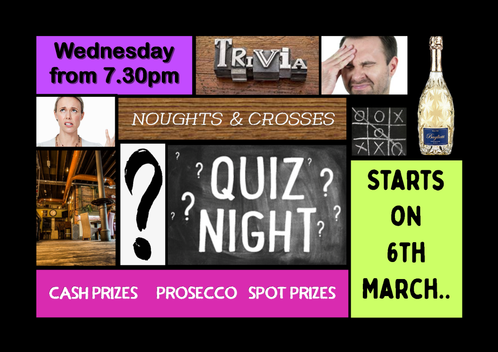 Quiz Night | Bar 1898, Consett