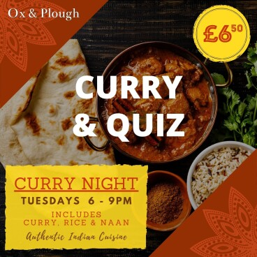 Curry Night & Quiz