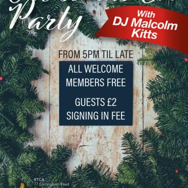 ETCA Christmas Eve Party