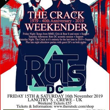 RUTS DC The Crack Weekender