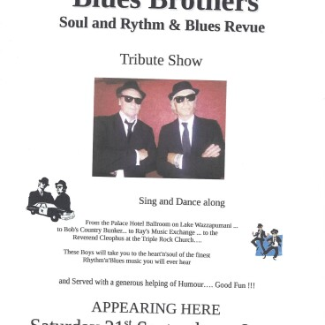 BLUES BROTHERS COVER BAND