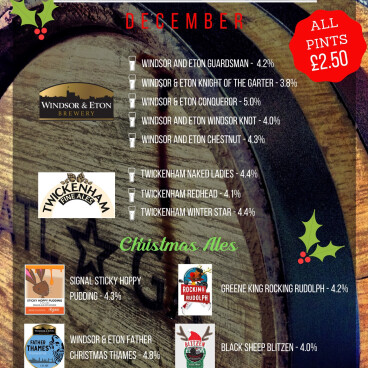 Decembers Featured Breweries