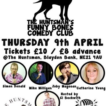 Comedy Night at the Huntsman