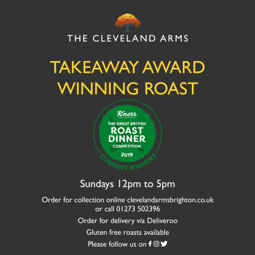 Take Away Sunday Roast