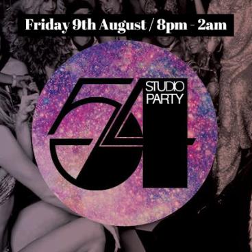 STUDIO 54 - 70's Night  - Fri 9th aUG