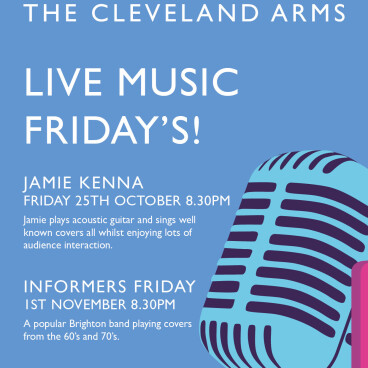 Live music with The Informers