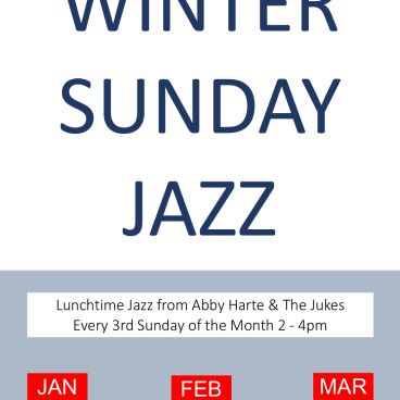 OUT TO LUNCH-WINTER SUNDAY JAZZ 2-4pm