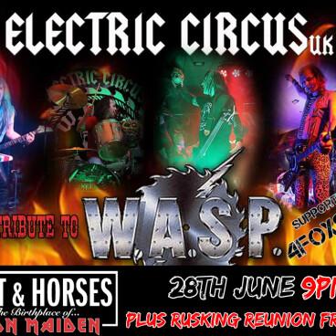 Electric Circus UK, 4foxSake, Ruskin R