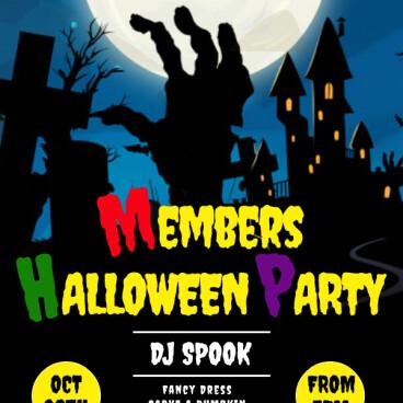 Members Halloween Party