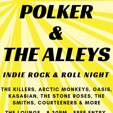 Live In The Lounge: Polker The Alleys