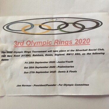 Olympic Rings 2020.