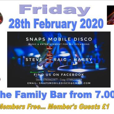 SNAPS Disco Party Night