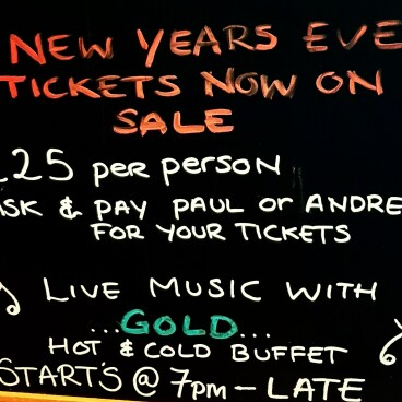 NYE 2019 With Live Music From 'Gold'
