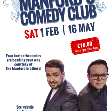 Manford's Comedy Club Warrington