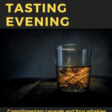 Whiskey Tasting Evening