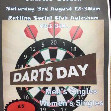 Darts fundraiser
