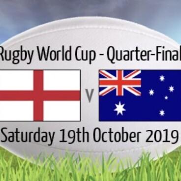 England V Australia Rugby World Cup