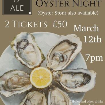 Champagne and Oyster Night