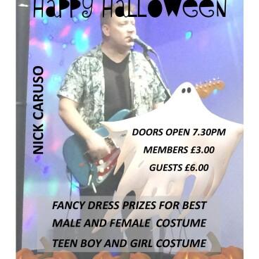 Saturday Entertainment Halloween Theme