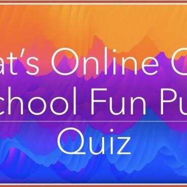 Mat's Online Old School Quiz
