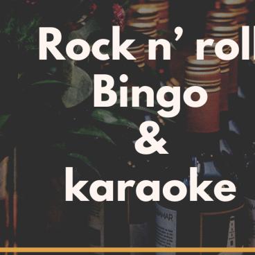 Rock and roll Bingo & Karaoke!