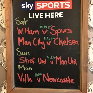 Aston Villa v Newcastle Utd 8pm ko