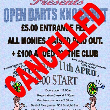 Open Darts Knockout