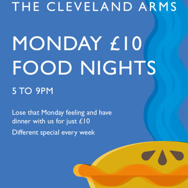 Monday £10 food night