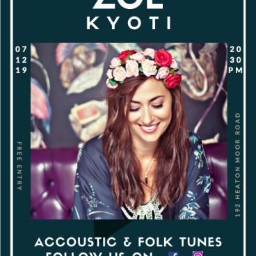 Live with Zoe Kyoti