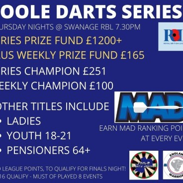 Poole Darts Series 1 - Event 1