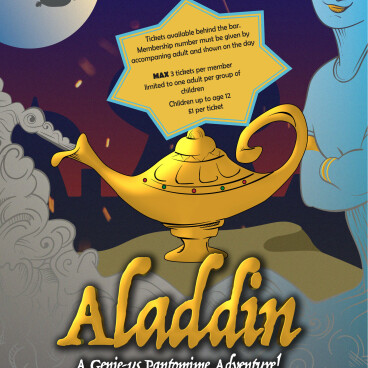Aladdin: A Genie-Us Panto Adventure!