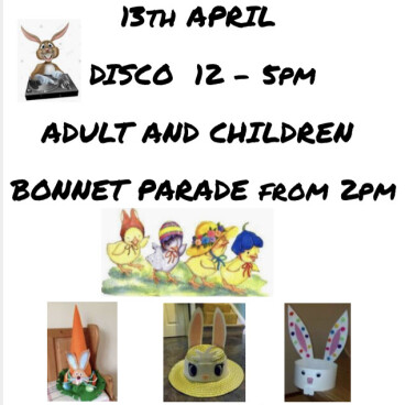 Easter Disco and Bonnet Parade