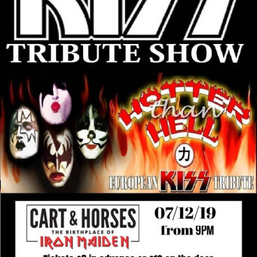 KISS tribute (HOTTER than HELL)