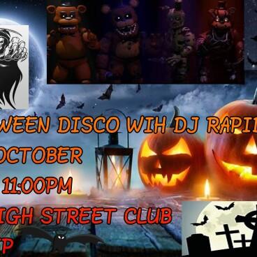 Halloween Fancy Dress Disco & Karaoke