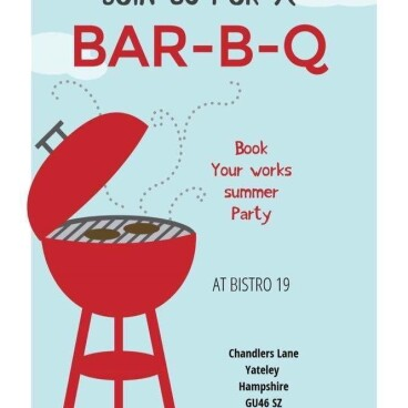 Book your company BBQ PARTY