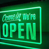 We Re-open