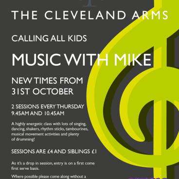 Music with Mike - NEW TIMES!!