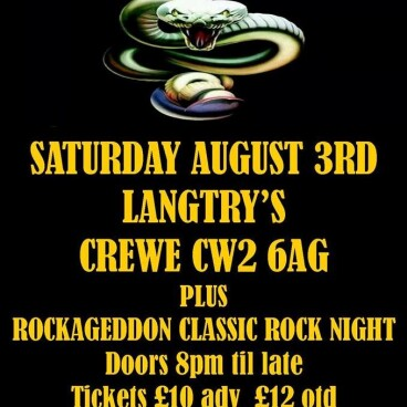 Rockageddon Rock Night & White Snake