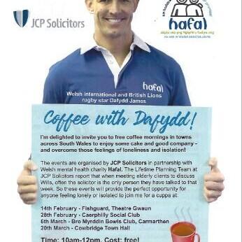 COFFEE WITH DAFYDD