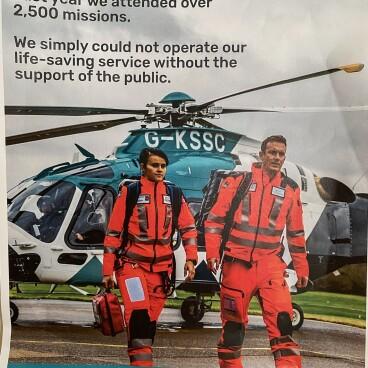Charity Night-for Kent Air Ambulance