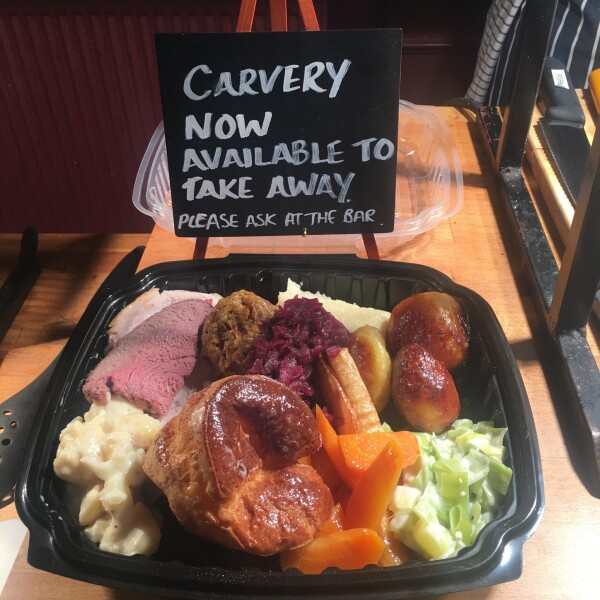 Carvery Now Available to takeaway