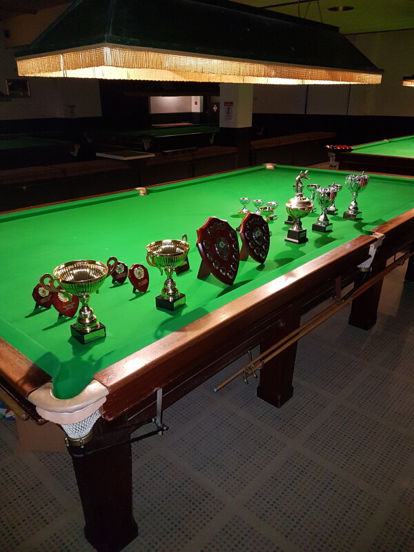 Reopening Stoke Snooker Club