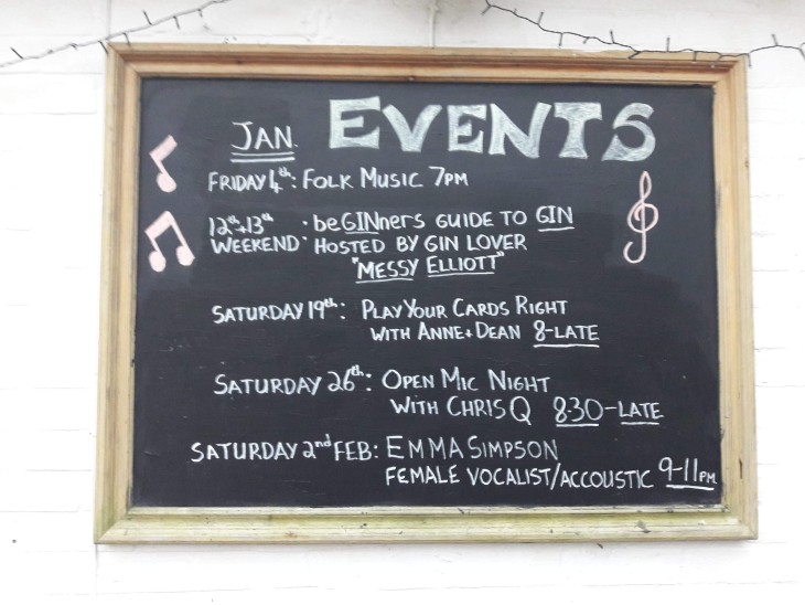 What's On This Month at The Travellers Joy!