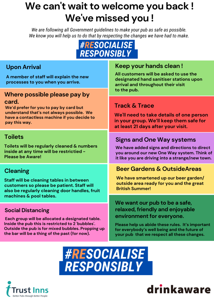 RESOCIALISE RESPONSIBLY