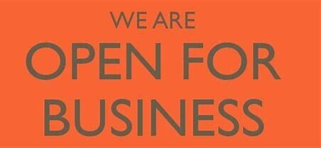 WE ARE OPENING!!!