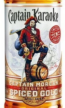 Captain Karaoke Spiced Rum