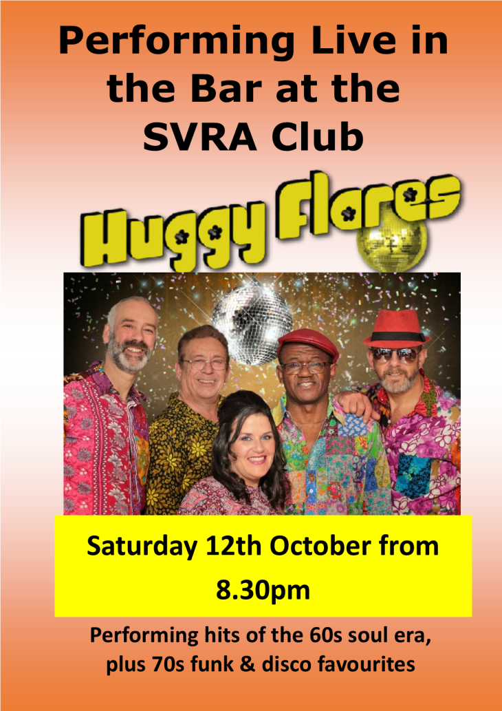 The Huggy Flares Live at the SVRA Club