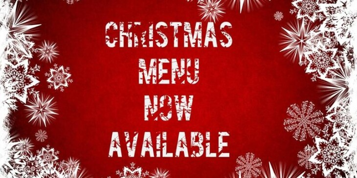 Our Pre Christmas Menu is available!!!
