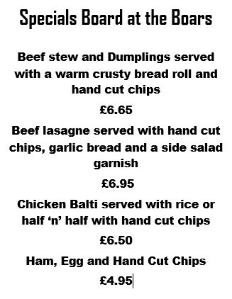Great new specials for this week