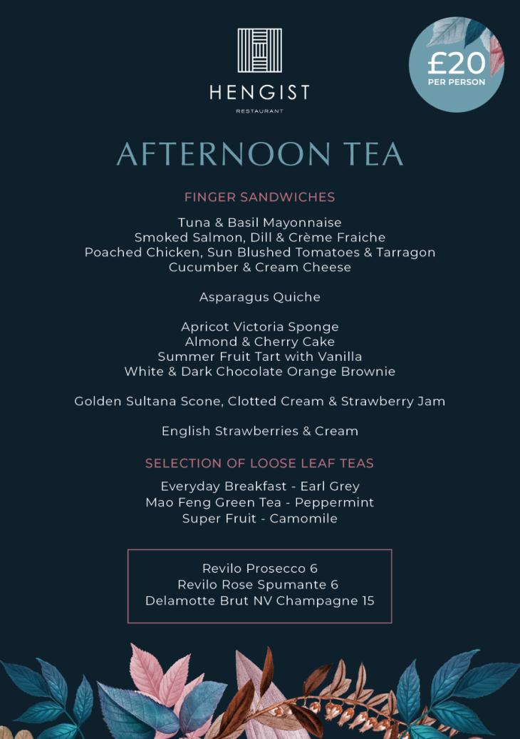 Afternoon Tea is back!
